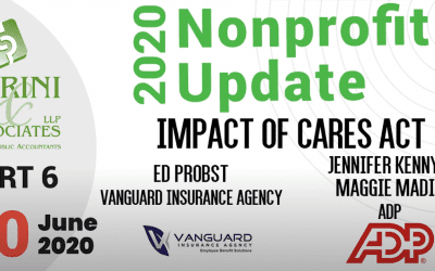 2020 NFP Update Part 6 – Impact of CARES Act
