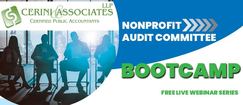 Nonprofit Audit Committee Bootcamp Part 1 – Roles and Responsibilities