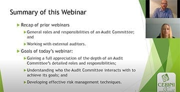 Nonprofit Audit Committee Bootcamp Part 3 – Internal Communication and Understanding Risk